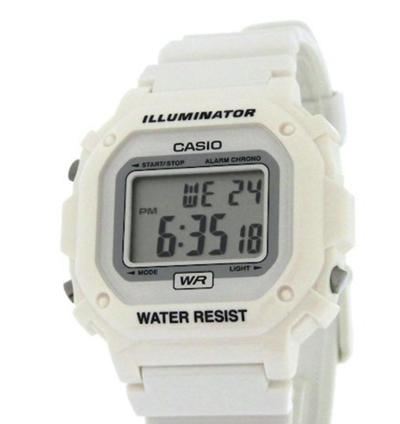 カシオの腕時計(ホワイト)