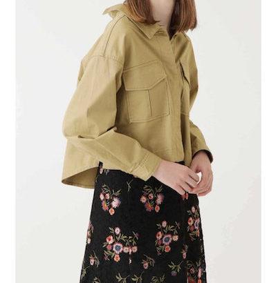 ドラマサバ婚着用ファッションミリタリージャケット