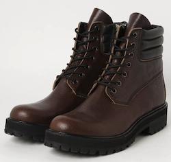 Tochigi leather trekking shoes (トレッキングシューズ)【ブラウン】