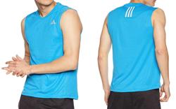 [アディダス] ランニングウェア RESPONSEスリーブレスTシャツ 【ブルー】