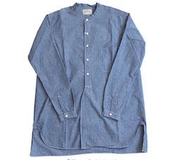スペルバウンド Spell Bound バンドカラーロングシャツ