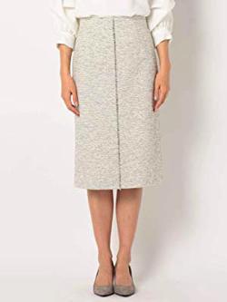 NOLLELY'S sophi(ノーリーズソフィー)ミックスツイードスカート