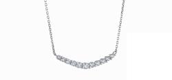 festaria bijou SOPHIA Pt950/850 ダイヤモンド ネックレス