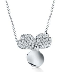 Tiffany&Co. (ティファニー)ダイヤモンド フラワー ペンダント