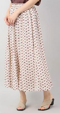 B.C STOCK マーメイドラインプリントスカート