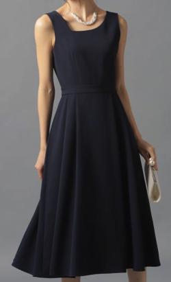 Andemiu (アンデミュウ)アシメネックドレス