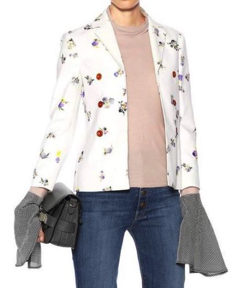 ACNE STUDIOS(アクネ ストゥディオズ)のJilva floral-printed corduroy jacket