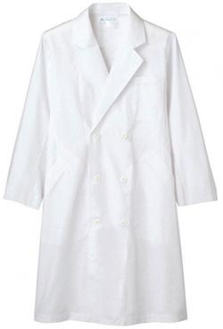 ドクターコート(白)ダブルボタン