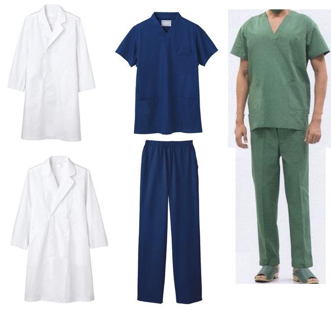【白い巨塔】《岡田准一》さん着用のドクターコート・ジャケット・パンツ・手術下着(上衣)・手術下着(パンツ)はこちら♫