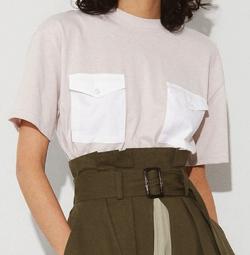 ECLIN(エクラン)ダブルポケットTシャツ