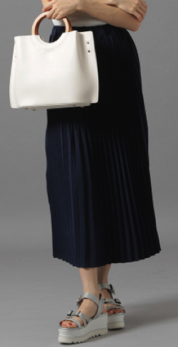 Andemiu(アンデミュウ)ランダムプリーツスカート