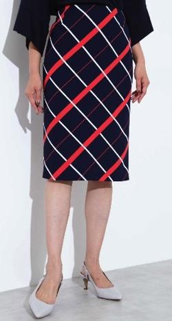 BOSCH(ボッシュ) マリンチェックプリントスカート