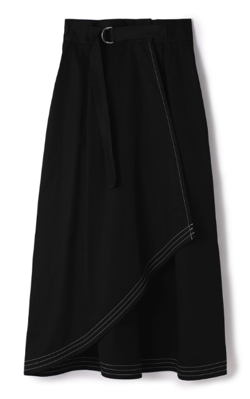 STUDIOUS(ストゥディオス)トレンチラップスカート