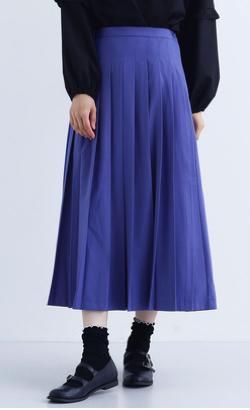 merlot plus プリーツスカート