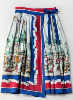 Jane Marple Le 14 juilletの2Faceスカート
