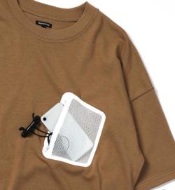 FREAK'S STORE WEB限定 ビッグシルエット メッシュポケットTシャツ
