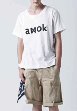 amok(アモク) LOGO TEE
