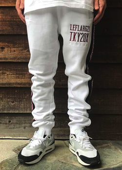 LEFLAH(レフラー) line sweat pants