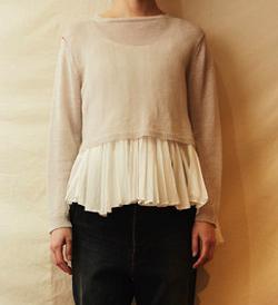 suzuki takayuki knitted pulloverⅠ