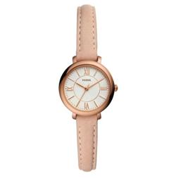 Jacqueline Mini Leather Strap Watch