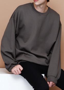 EMMA CLOTHES ブライトポプリンリラックスオープンカラーシャツ長袖版