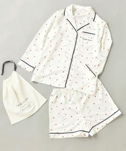 TERRITOIRE(テリトワール)サマーサテンパジャマ セットアップ
