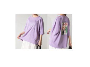 着用のTシャツ【コーヒー&バニラ】喜多 乃愛 (芦屋 なつき役)着用ファッション・ブランドは?等身大の女子大生のコーデチェック♫