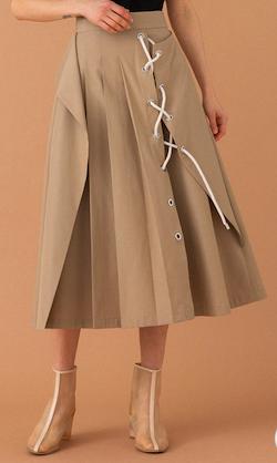 UNITED TOKYO(ユナイテッドトウキョウ)サンドレースアップスカート