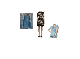 2020/3/31(金)放送《山本美月》さん着用シャツ・スカートはこちら♫【めざましテレビ】に番宣等で出演した芸能人が着用しているファッションやブランド