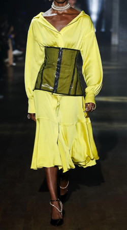 ADEAM Limeslight Corset Dress