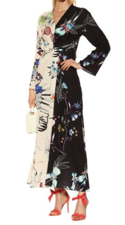 Etro (エトロ) Printed asymmetrical dress