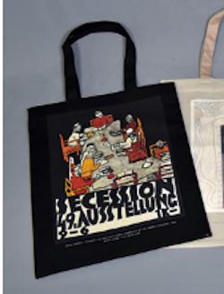 国立新美術館 「ウィーン・モダン クリムト、シーレ世紀末への道」トートバッグ