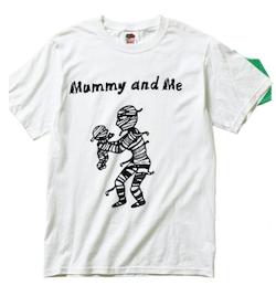 ノーブランド 古着Tシャツ MummyとMammy