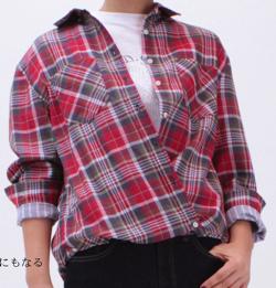 M・J・G チェックシャツ