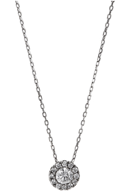 ポンテヴェキオ Pt999ダイヤモンドネックレス