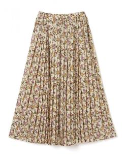 GRL フラワープリーツスカート