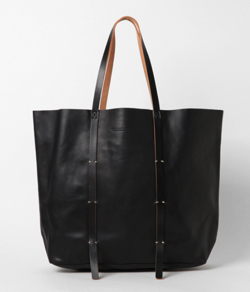 Vlas Blomme Leather トートBag
