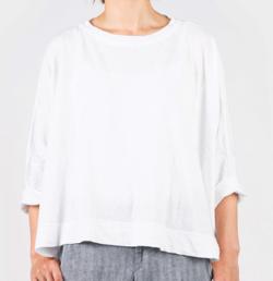 45R 超ガーゼの天竺ビッグTシャツ