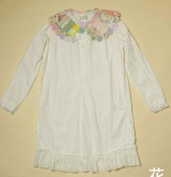 keisuke kanda 百徳襟のシャツワンピース