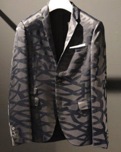 NEIL BARRETT(ニール バレット)Ribbon Jacquard Jacket