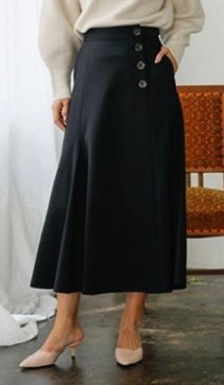 LADY MADE アシメフレアスカート