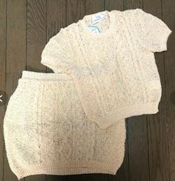 keisuke kanda チュール裂き編みのセーター