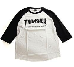 THRASHER(スラッシャー) MAG LOGO 3/4 T-SHIRT