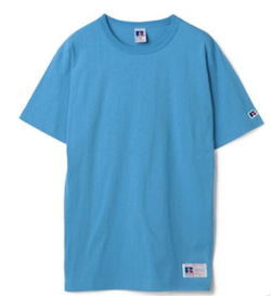 RUSSELL ATHLETIC RUSSELL T-Shirts 後染め Tシャツ