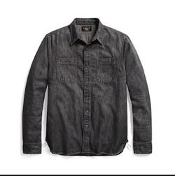 RRL Ralph Lauren デニム ワークシャツ