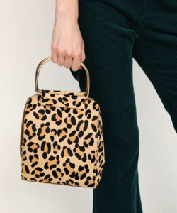 SLY(スライ)LEOPARD SQUARE RETRO BAG