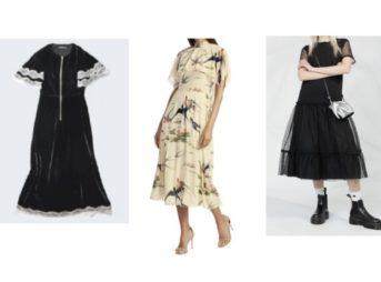 【アナザースカイⅡ・2019/10/18日放送】《杉咲花》さん着用の鳥デザインワンピース・黒いドレス