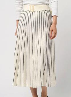 NINE 14Gメリノウールプリーツスカート
