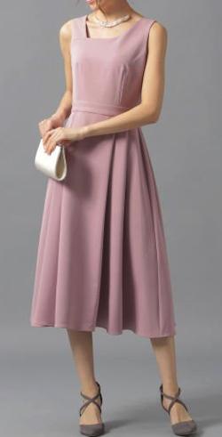 Andemiu(アンデミュウ)アシメネックドレス