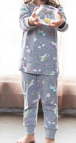 ユニコーン柄 パジャマ